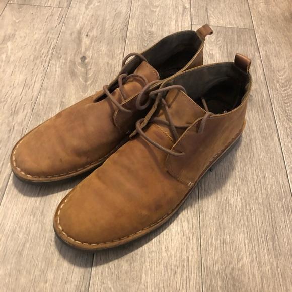 e60d18f28884b Merona Shoes | Target Chukka Boots Brown Size 12 Mens | Poshmark